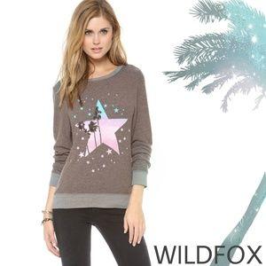 WILDFOX Starry Palms Baggy Beach Jumper